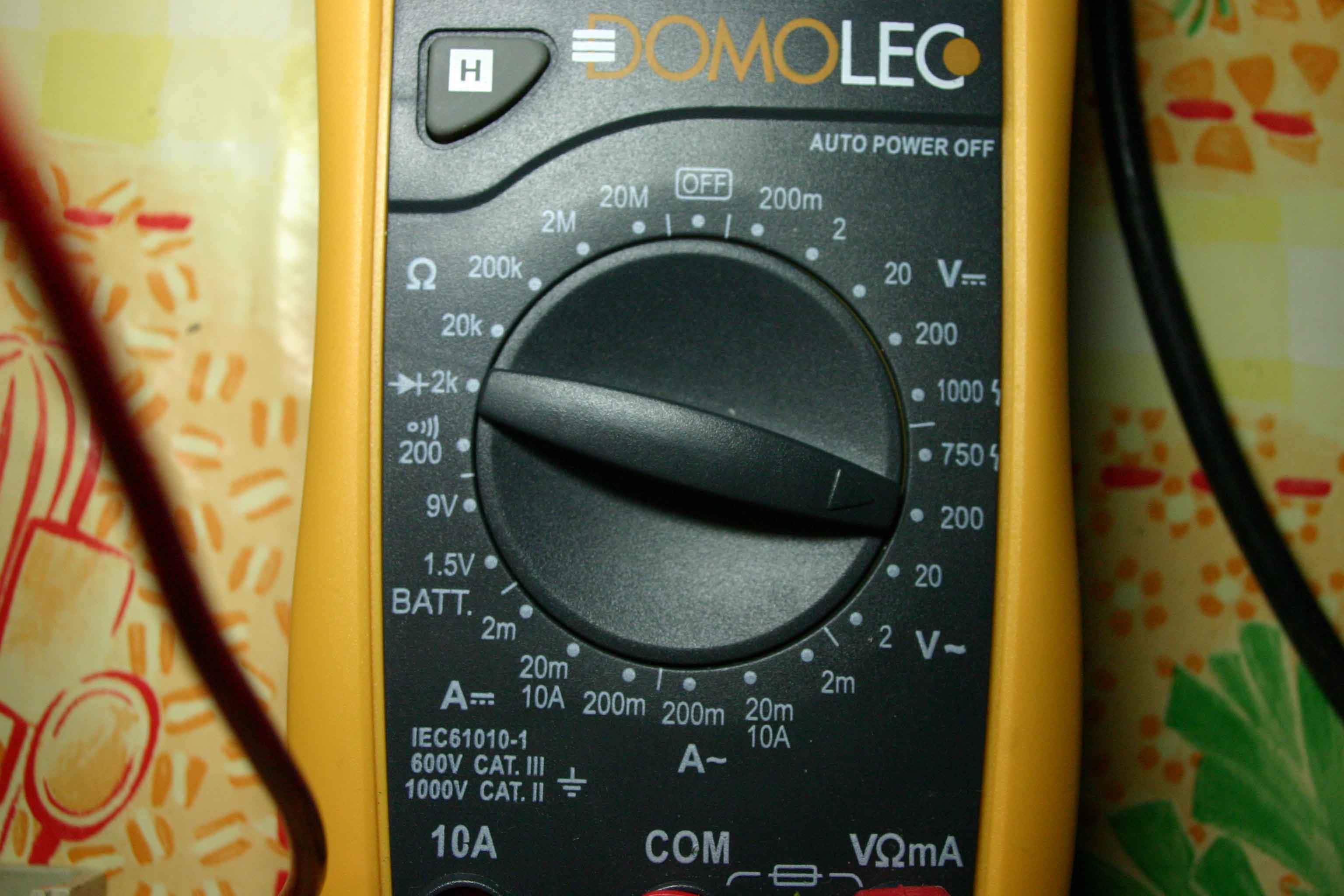 Tsf radio - Tester condensateur avec ohmmetre ...